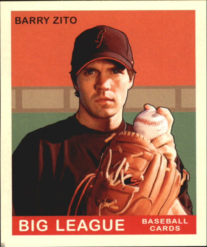2007 Upper Deck Goudey #13 Barry Zito