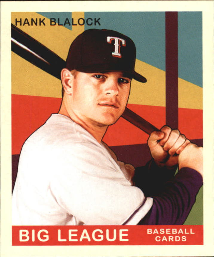 2007 Upper Deck Goudey #45 Hank Blalock