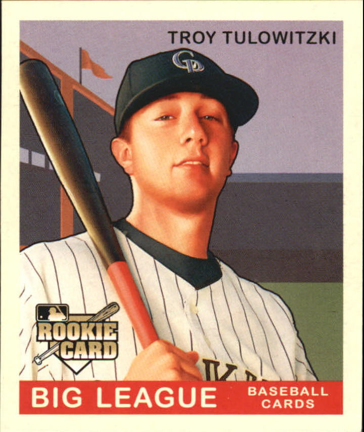 2007 Upper Deck Goudey #55 Troy Tulowitzki (RC)