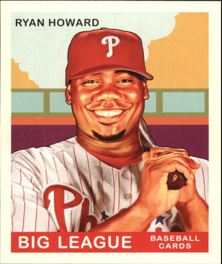 2007 Upper Deck Goudey #226 Ryan Howard SP