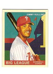 2007 Upper Deck Goudey Red Backs #61 Jimmy Rollins