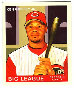 2007 Upper Deck Goudey Red Backs #69 Ken Griffey Jr.