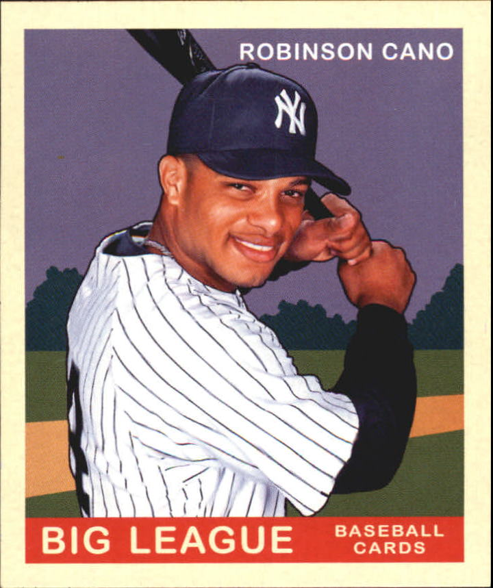 2007 Upper Deck Goudey Red Backs #88 Robinson Cano