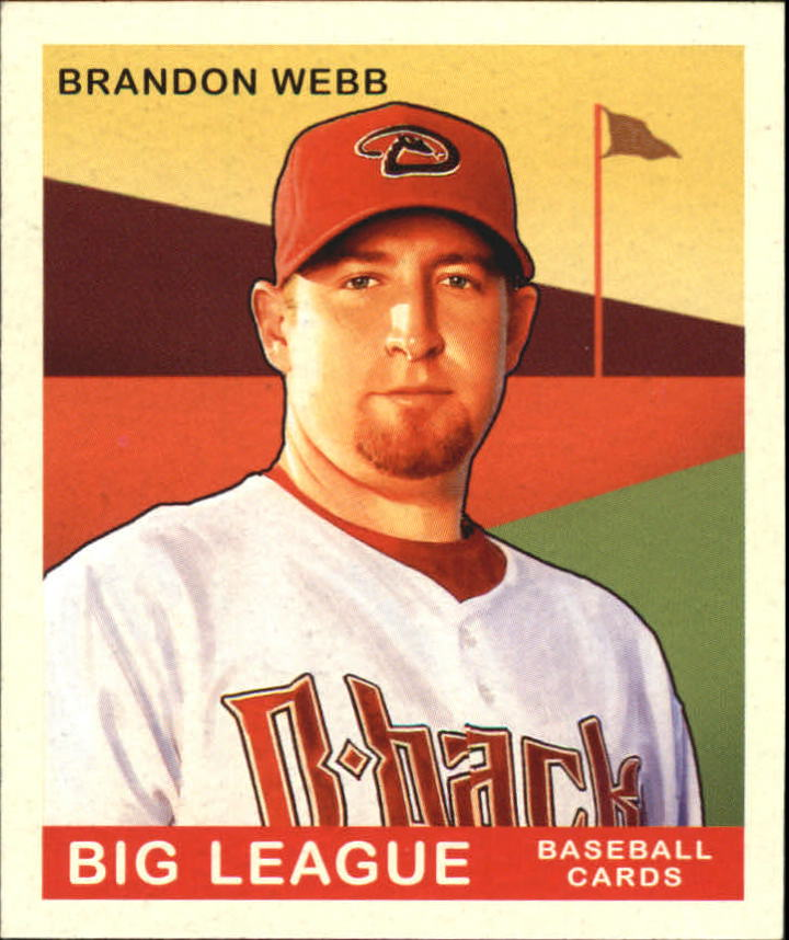 2007 Upper Deck Goudey Red Backs #113 Brandon Webb