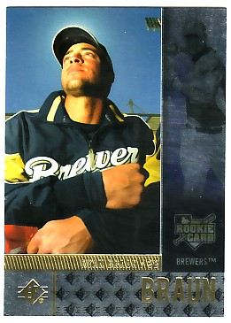 2007 SP Rookie Edition #111 Ryan Braun (RC)