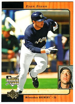 2007 SP Rookie Edition #249 Ryan Braun 96