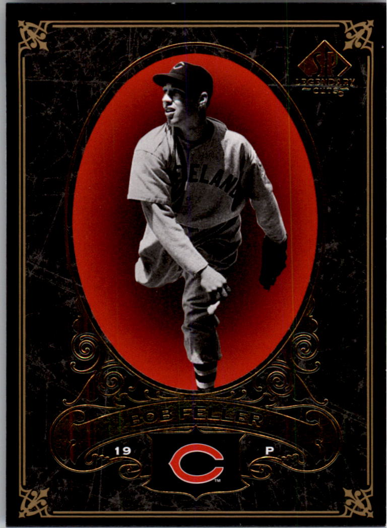 2007 SP Legendary Cuts #28 Bob Feller front image