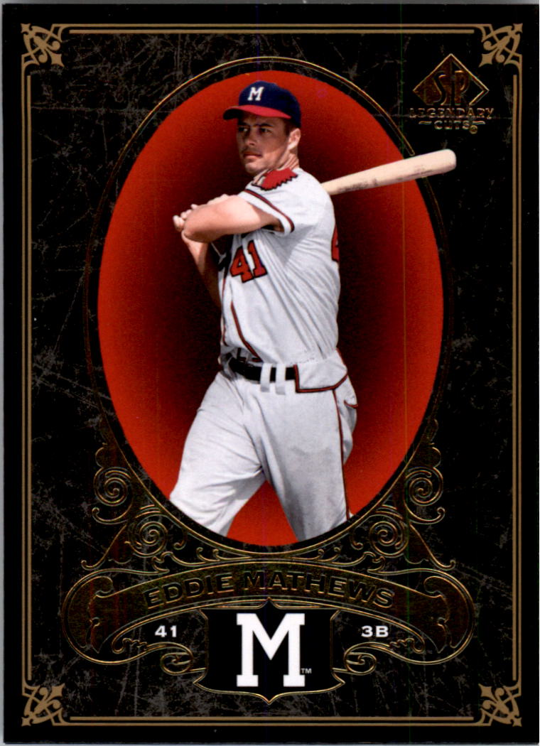 2007 SP Legendary Cuts #41 Eddie Mathews