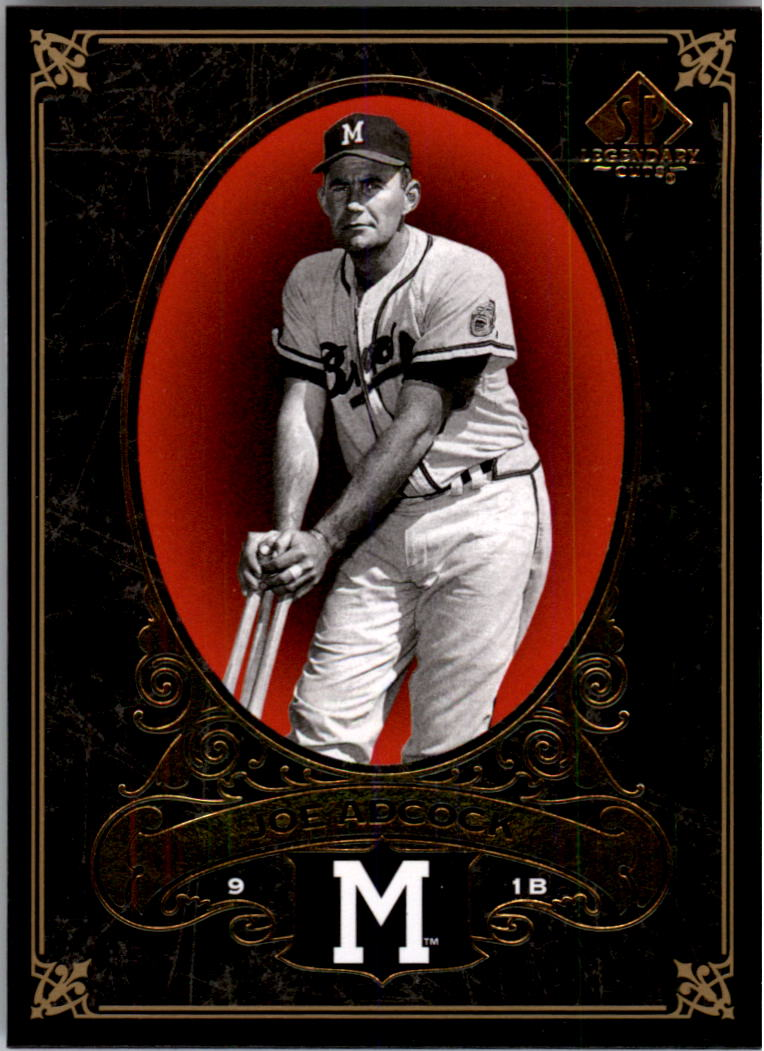 2007 SP Legendary Cuts #42 Joe Adcock