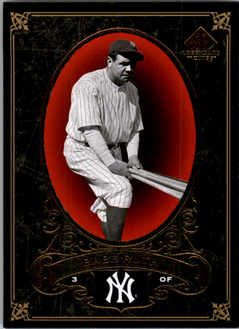2007 SP Legendary Cuts #54 Babe Ruth