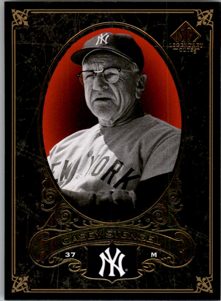 2007 SP Legendary Cuts #55 Casey Stengel