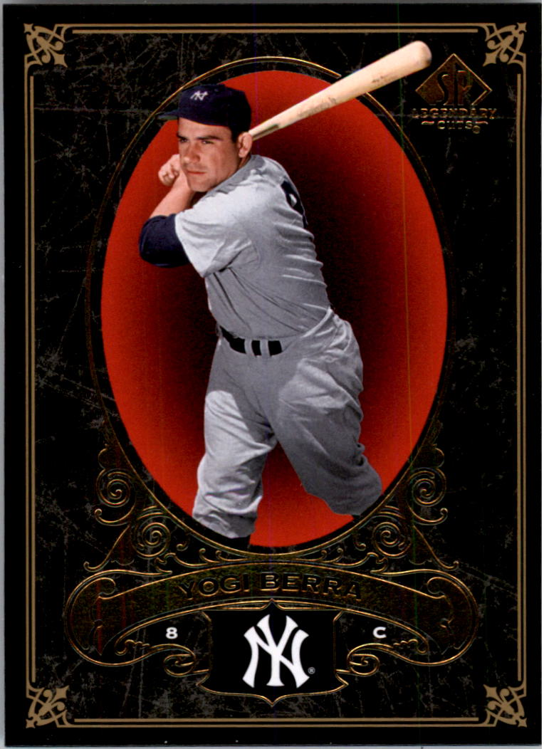 2007 SP Legendary Cuts #59 Yogi Berra
