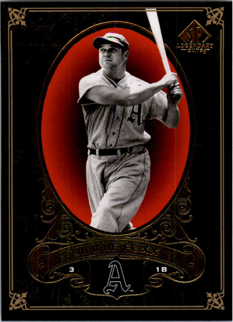 2007 SP Legendary Cuts #68 Jimmie Foxx