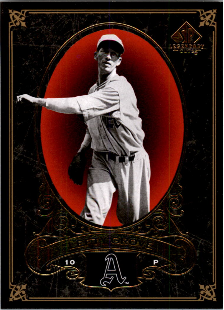 2007 SP Legendary Cuts #69 Lefty Grove