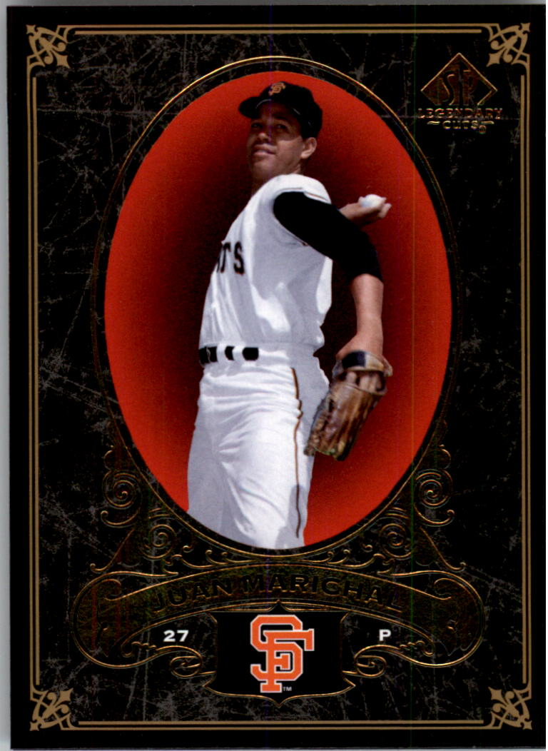 2007 SP Legendary Cuts #83 Juan Marichal