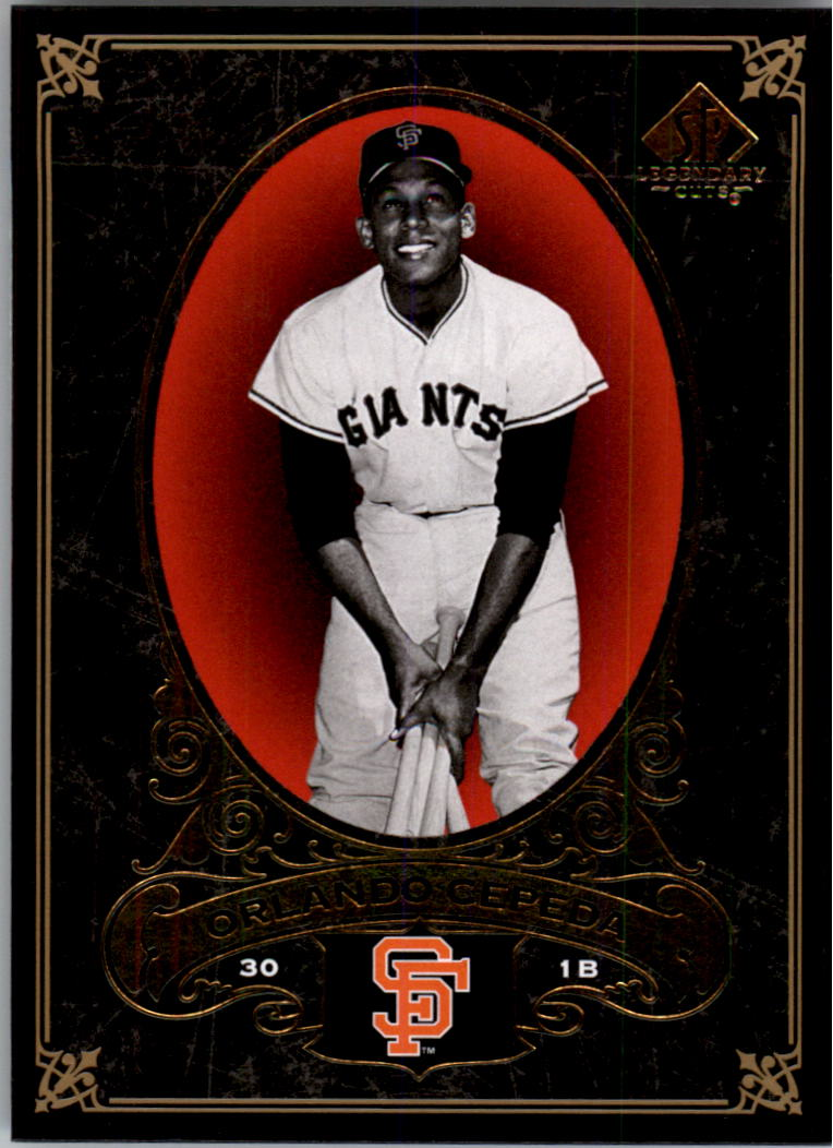 2007 SP Legendary Cuts #84 Orlando Cepeda