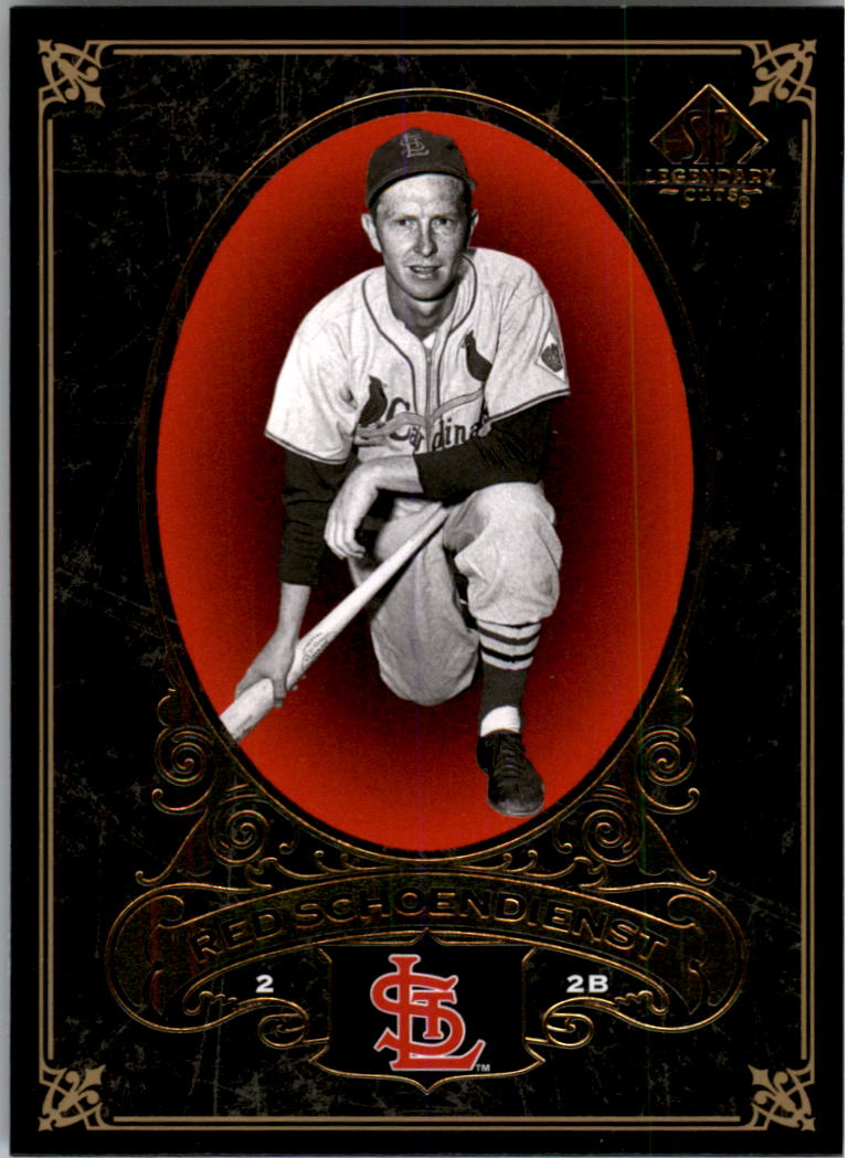 2007 SP Legendary Cuts #93 Red Schoendienst