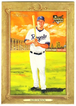2007 Topps Turkey Red #29 Alex Gordon RC
