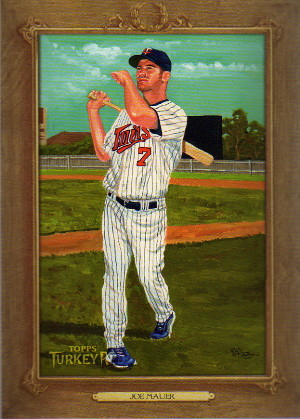 2007 Topps Turkey Red #147 Joe Mauer