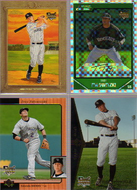 2007 Topps Turkey Red #163 Troy Tulowitzki (RC)