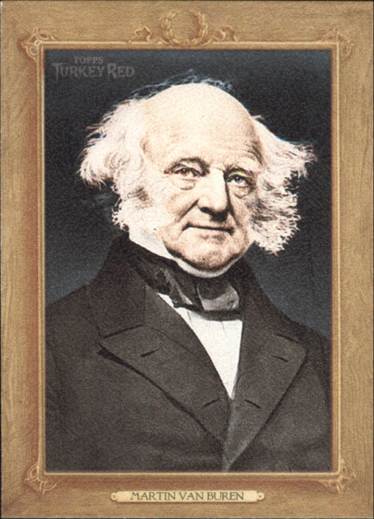 2007 Topps Turkey Red Presidents #TRP8 Martin Van Buren