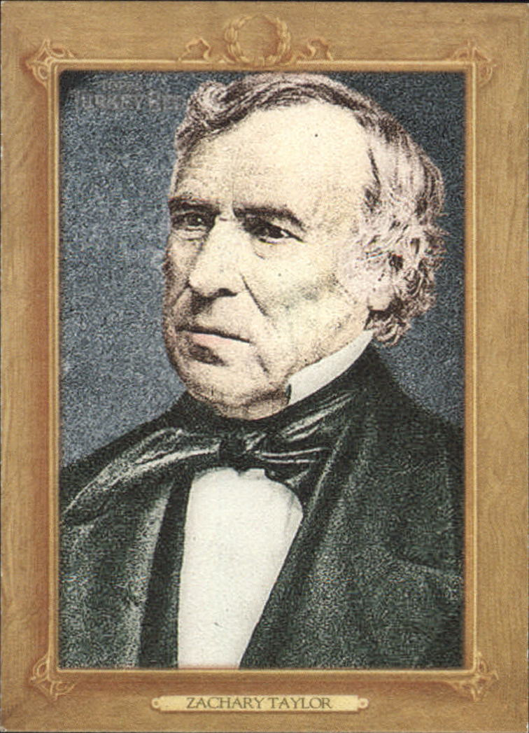 2007 Topps Turkey Red Presidents #TRP12 Zachary Taylor