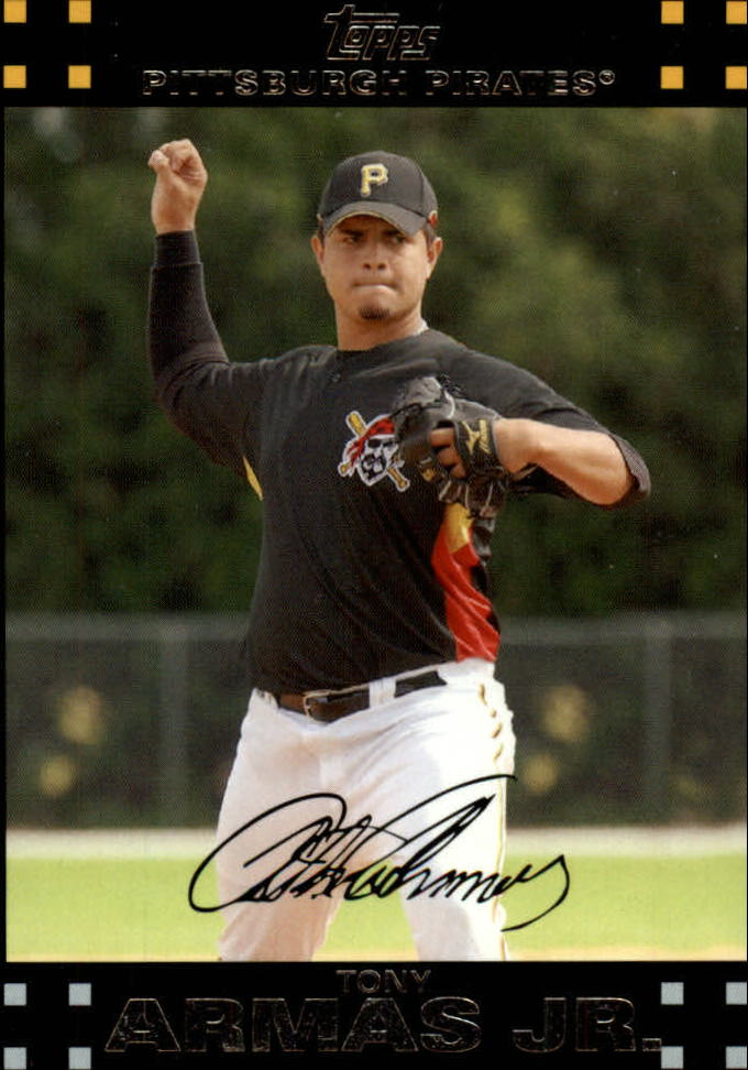 2007 Topps Update #1 Tony Armas Jr.
