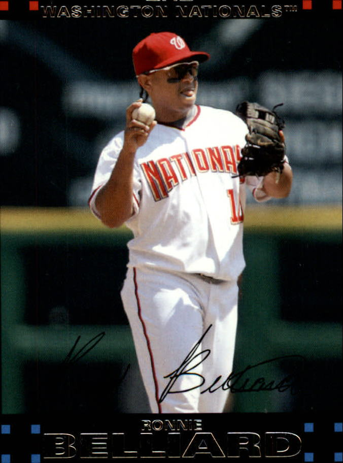 2007 Topps Update #7 Ronnie Belliard
