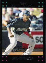 2007 Topps Update #18 Adam Jones front image