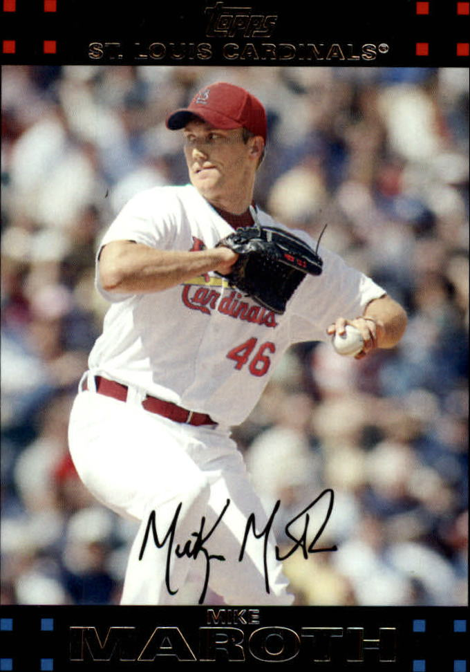 2007 Topps Update #55 Mike Maroth