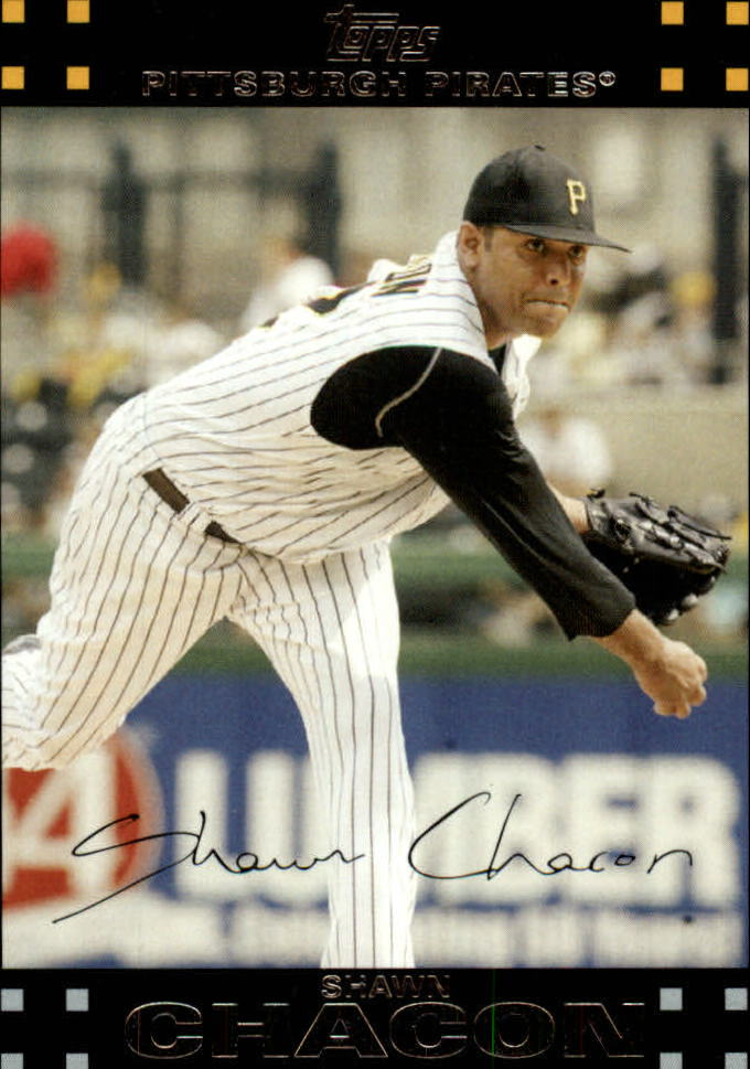 2007 Topps Update #61 Shawn Chacon