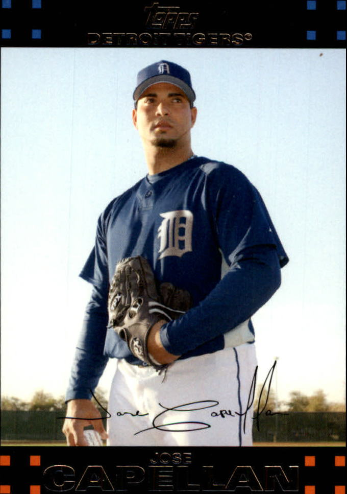 2007 Topps Update #70 Jose Capellan