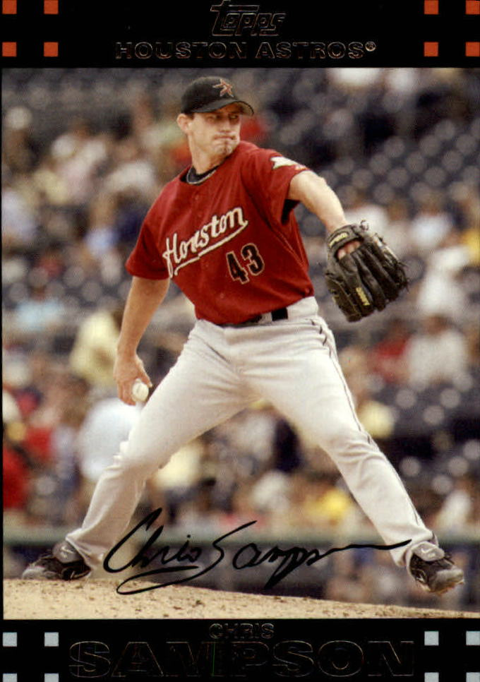 2007 Topps Update #93 Chris Sampson