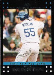 2007 Topps Update #223 Russell Martin