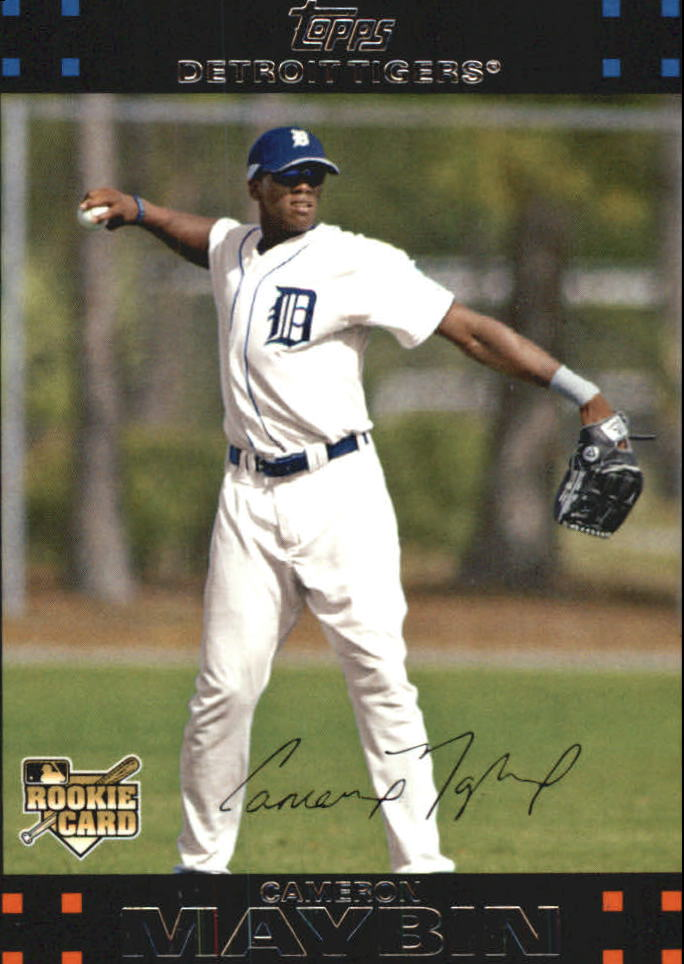 2007 Topps Update Red Back #141 Cameron Maybin