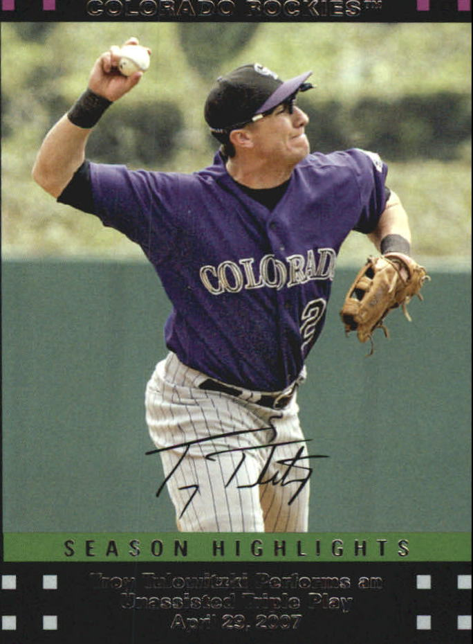 2007 Topps Update Red Back #209 Troy Tulowitzki