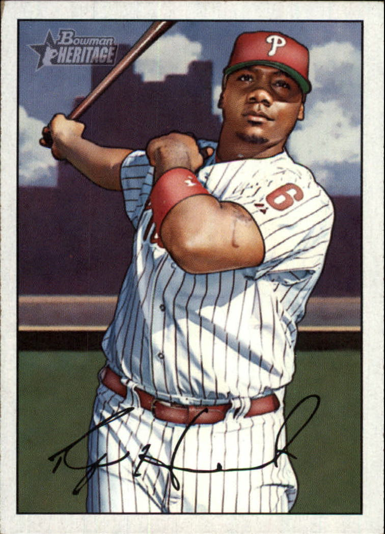 2007 Bowman Heritage #100 Ryan Howard