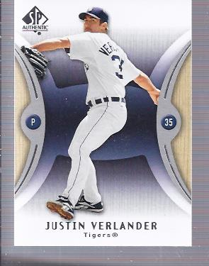 2007 SP Authentic #67 Justin Verlander