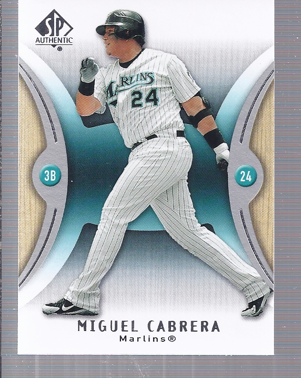 2007 SP Authentic #19 Miguel Cabrera