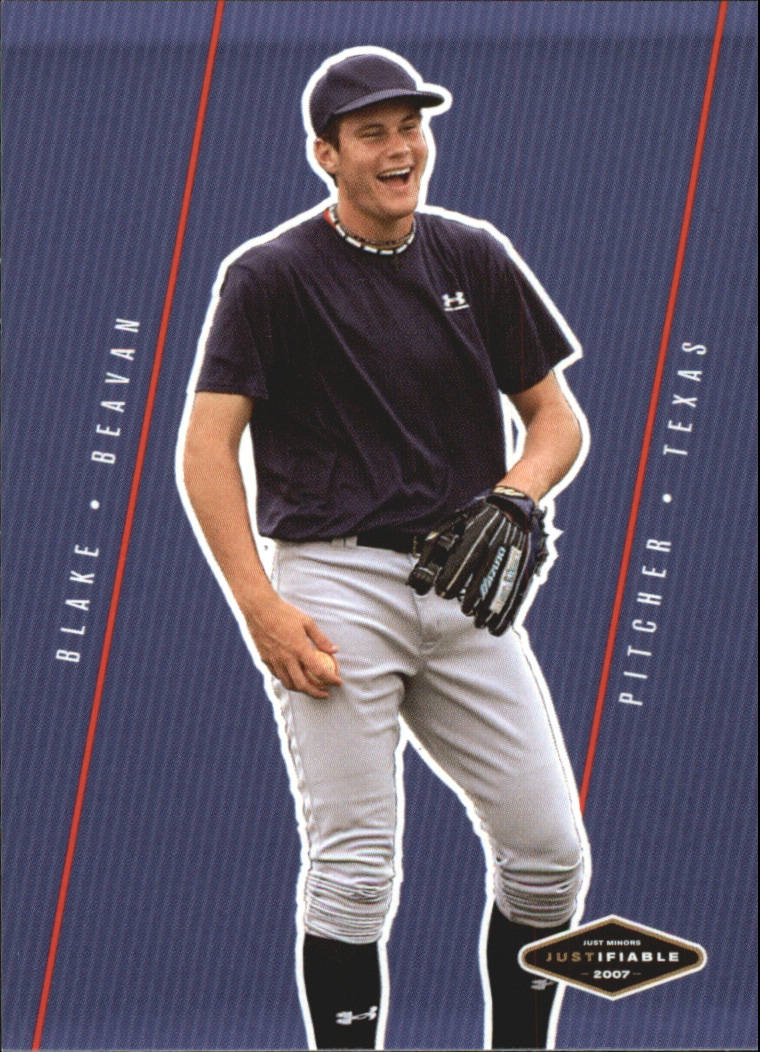2007 Justifiable #6 Blake Beavan