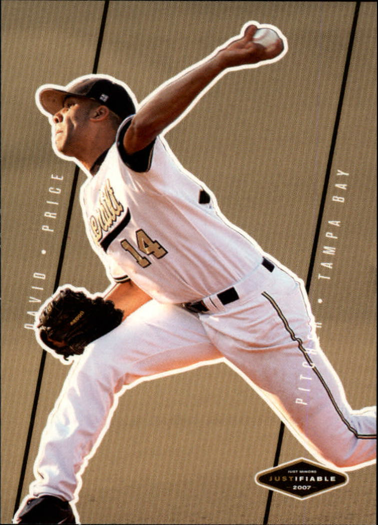 2007 Justifiable #34 David Price