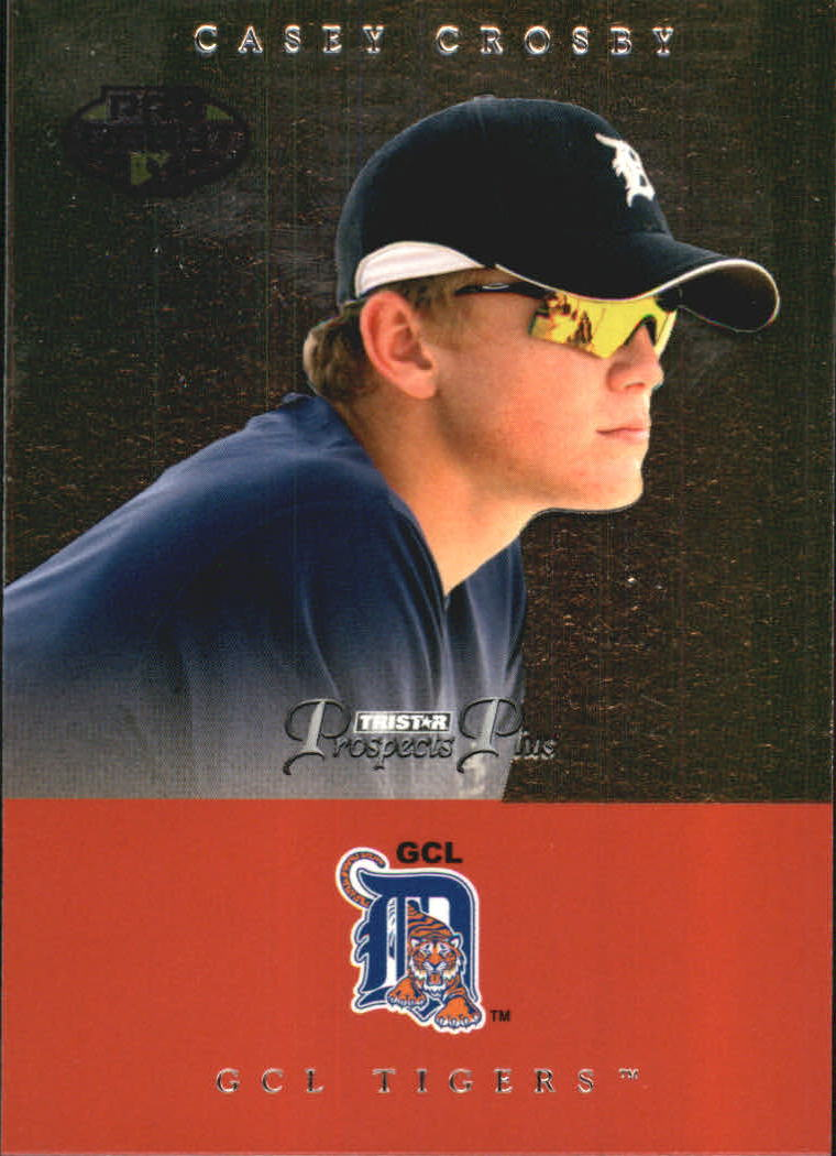 2007 TRISTAR Prospects Plus #83 Casey Crosby PD