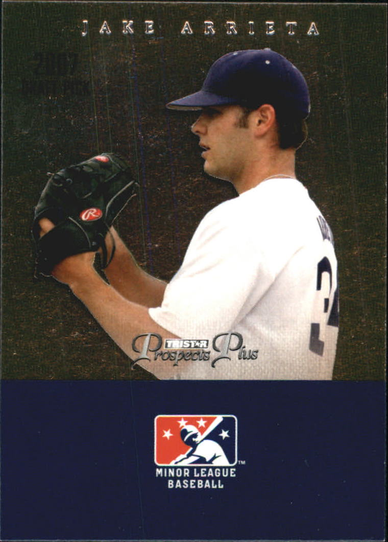 2007 TRISTAR Prospects Plus #96 Jake Arrieta