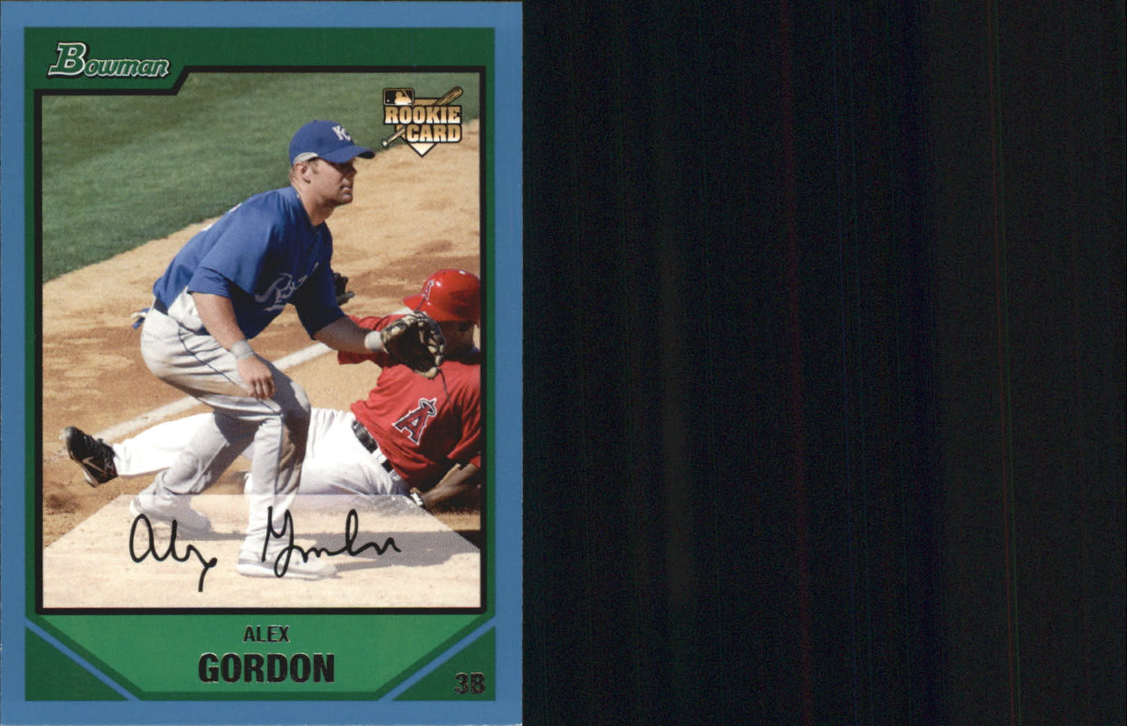2007 Bowman Draft #BDP15 Alex Gordon RC
