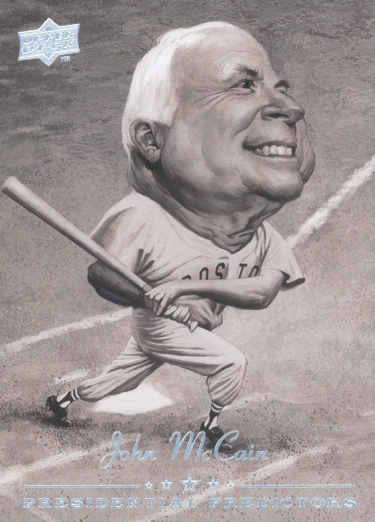 2008 Upper Deck Presidential Predictors #PP3 John McCain