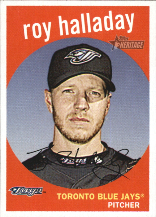 2008 Topps Heritage #246 Roy Halladay