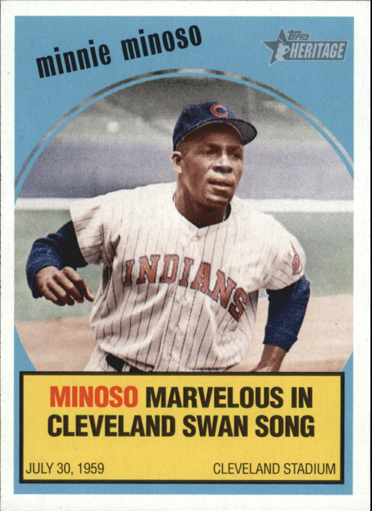 2008 Topps Heritage Baseball Flashbacks #BF1 Minnie Minoso