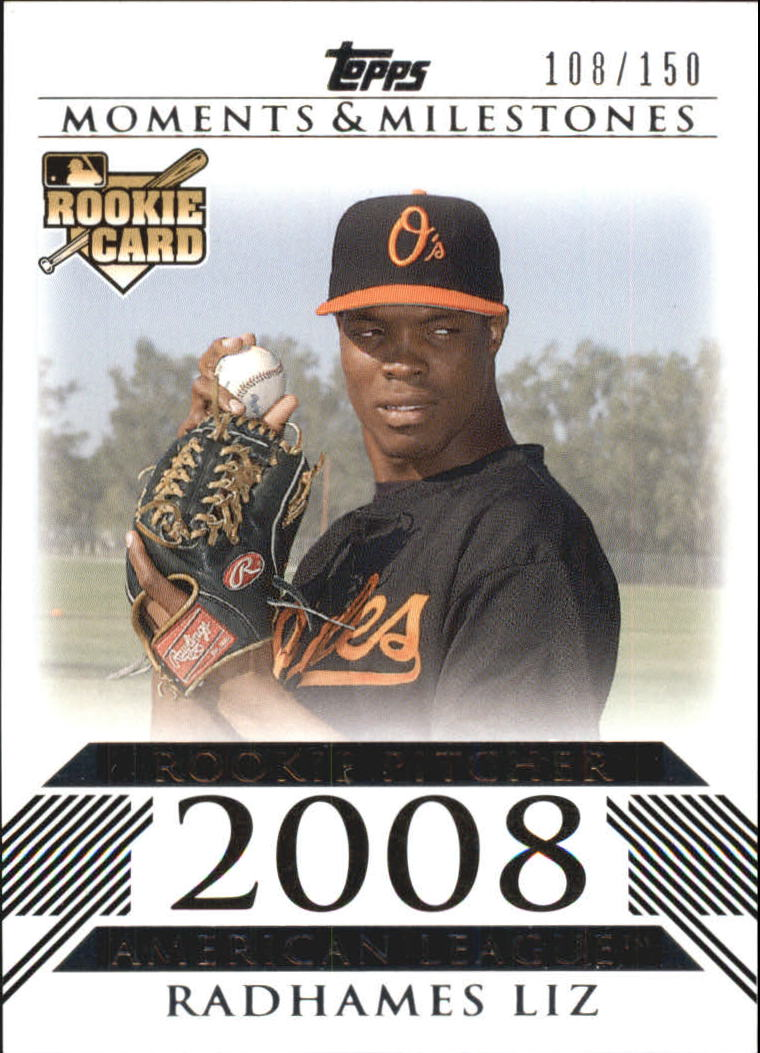 2008 Topps Moments and Milestones #161 Radhames Liz RC
