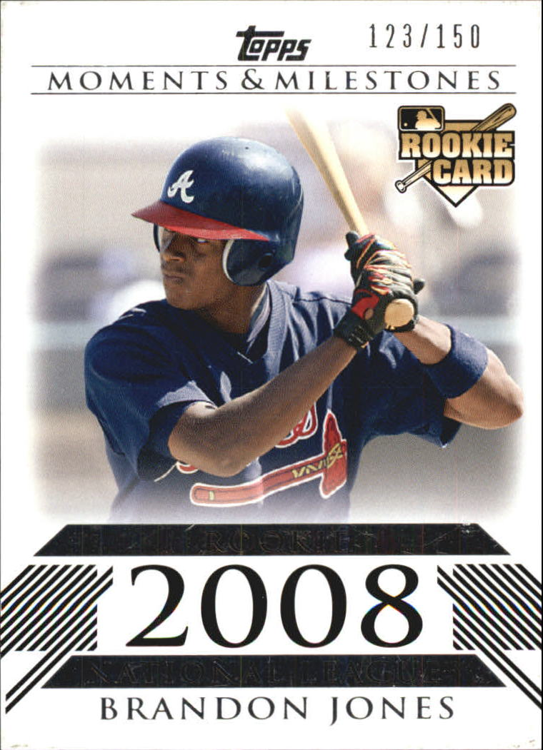 2008 Topps Moments and Milestones #187 Brandon Jones RC