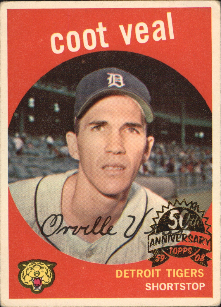 2008 Topps Heritage 1959 Buybacks #52 Coot Veal